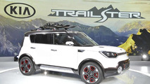 Kia Trail'ster concept arrives in Chicago as an off-road Soul with electric all-wheel drive