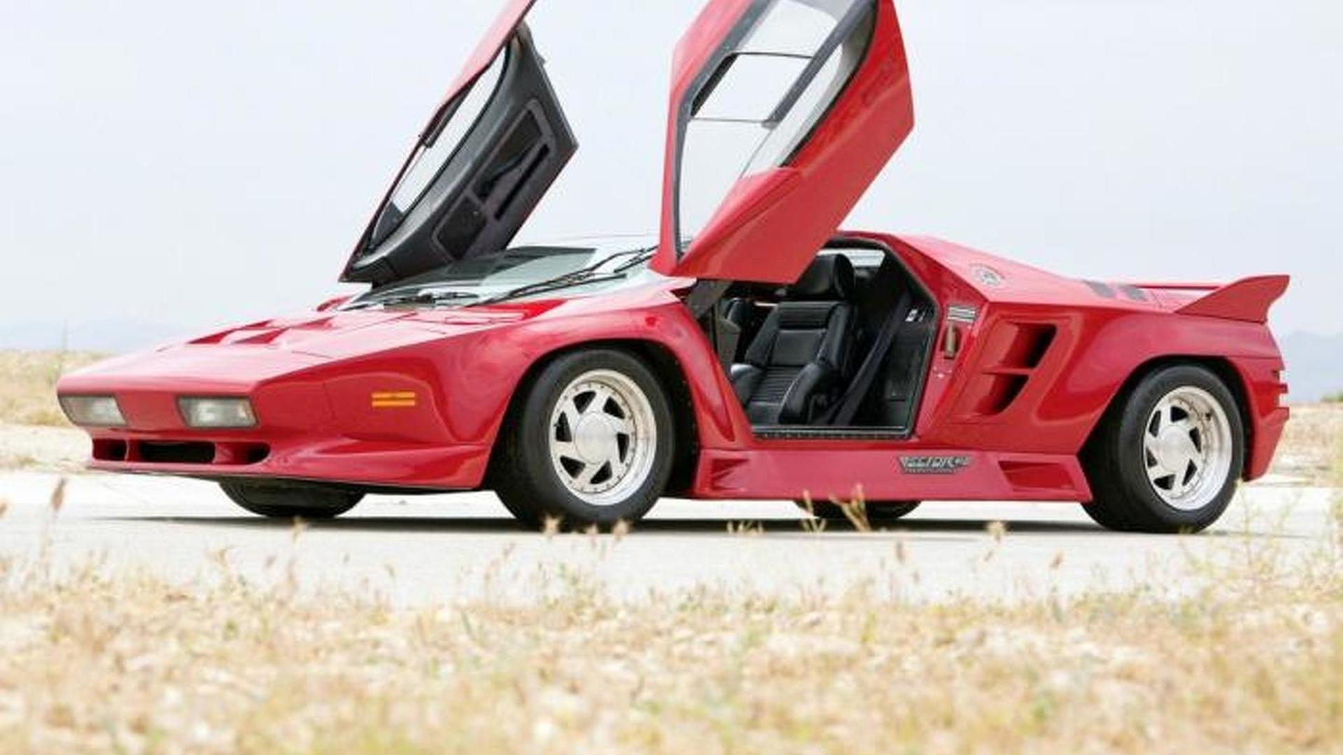 1992 Vector W8 to be auctioned in August