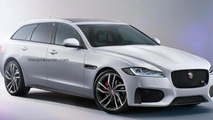 Jaguar XF Sportbrake renders show very probable design