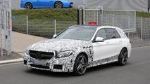 2015 Mercedes-Benz C63 AMG Estate spy photo