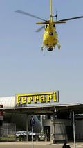 IMAX Film helicopter at Ferrari
