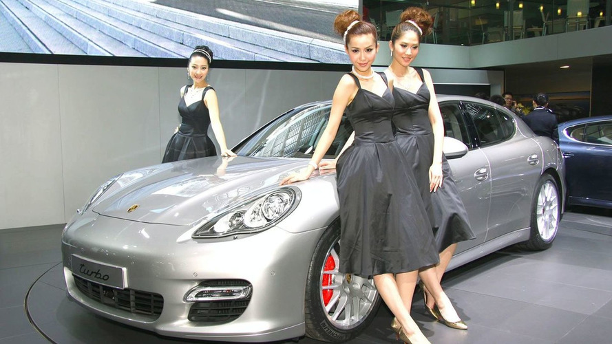 Porsche Panamera Officially Unveiled in Shanghai