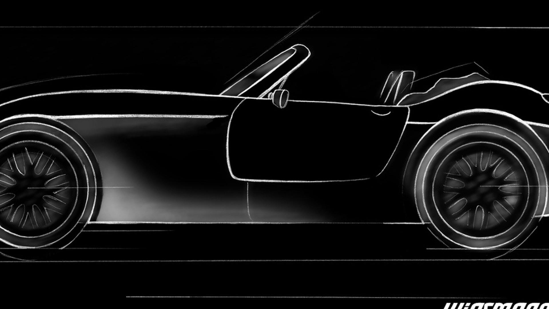 Wiesmann Roadster MF4 to Debut in Geneva: Teaser Released