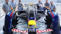 Red Bull X1 dream racer gets built full scale