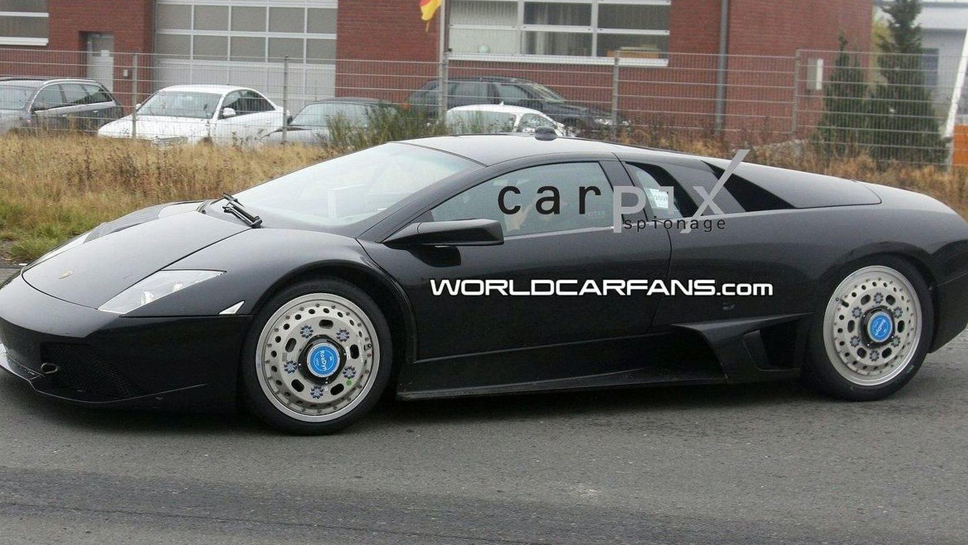 Lamborghini Murcielago Replacement Test Mule First Spy Photos