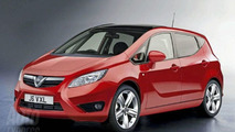Vauxhall Meriva Rendered Speculation