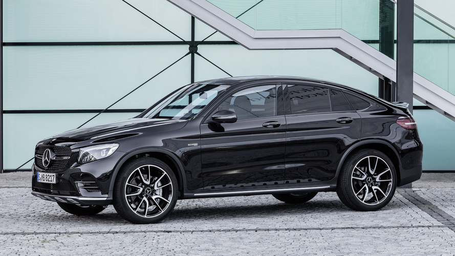2017 Mercedes-AMG GLC43 Coupe revealed with 362-hp biturbo V6