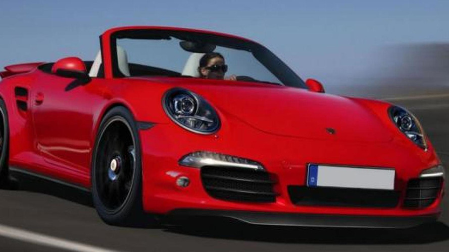 2013 Porsche 911 (991) Turbo Cabrio speculatively rendered