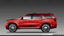 2012 Dodge Durango Rendered from official Sketches