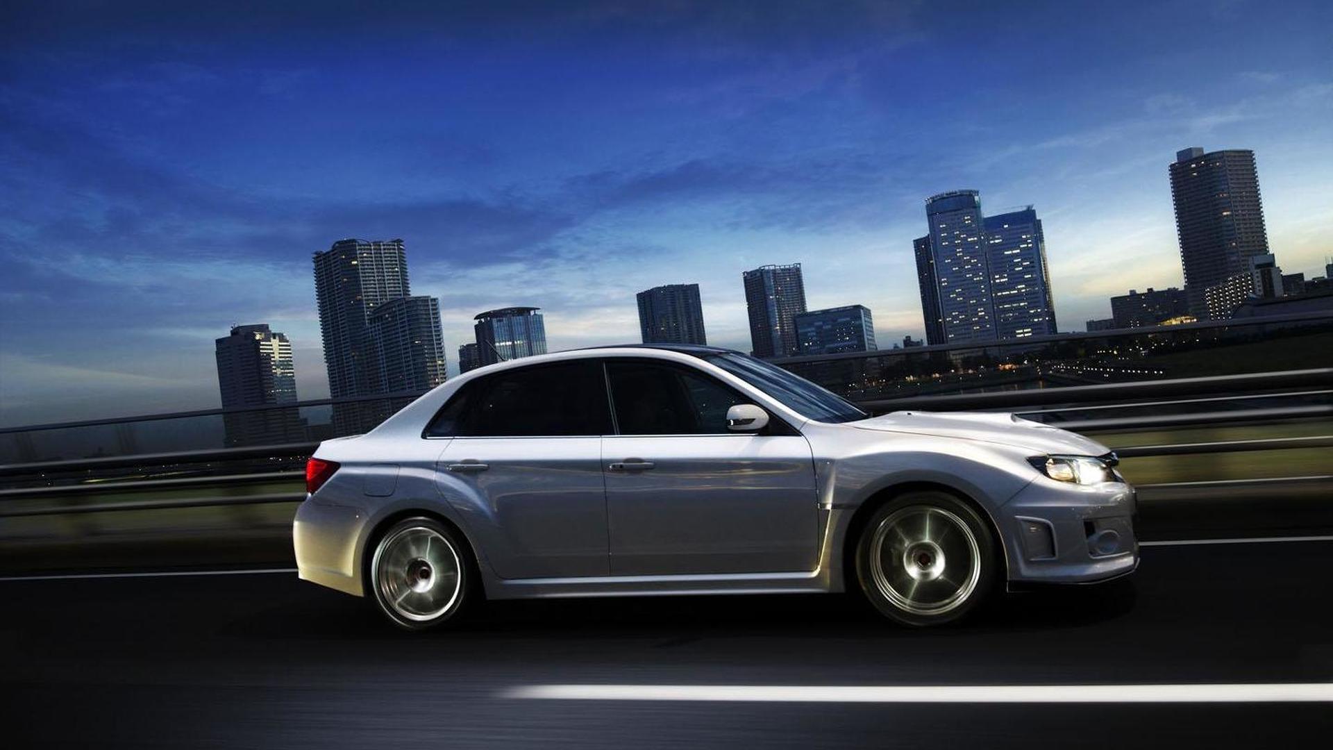 Subaru WRX STI tS announced for Japan