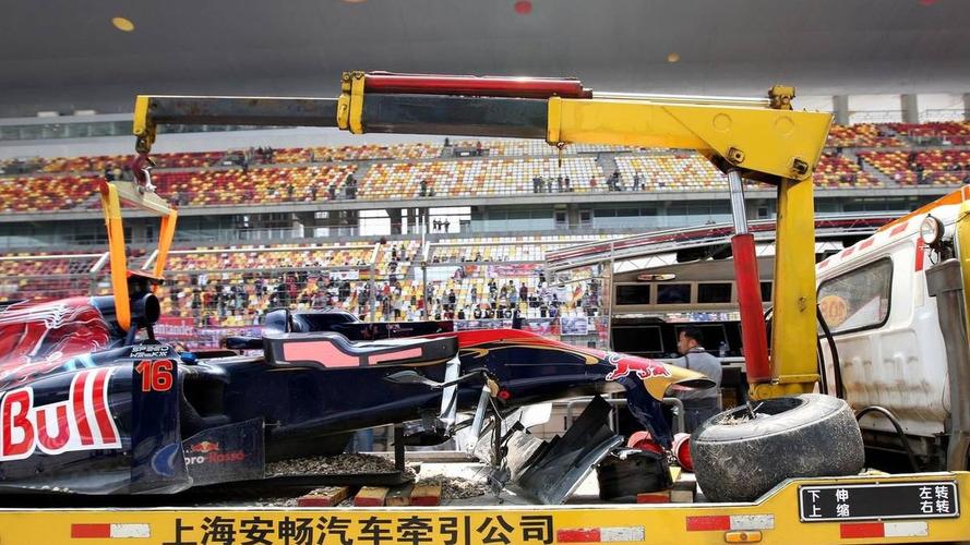 Upright failure caused Buemi crash - team