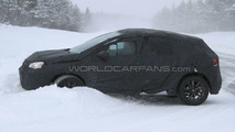 Citroen DS4 winter spy photos 26.02.2010