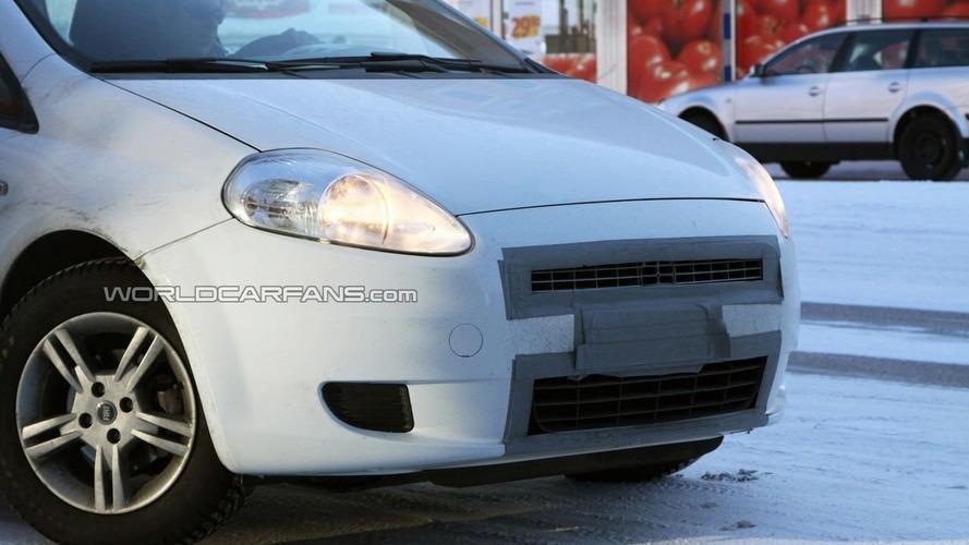 Fiat Grande Punto Facelift First Spy Photos