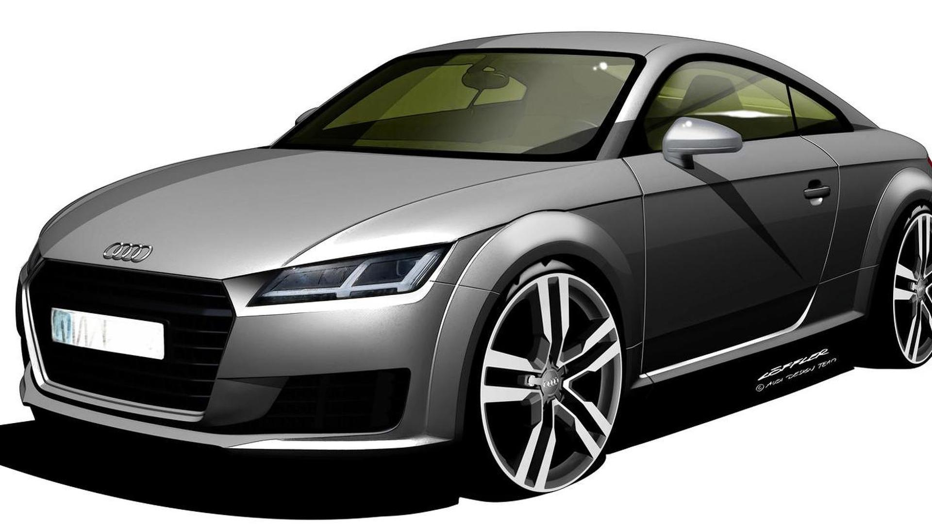 2016 Audi TT-RS to be dual-clutch only