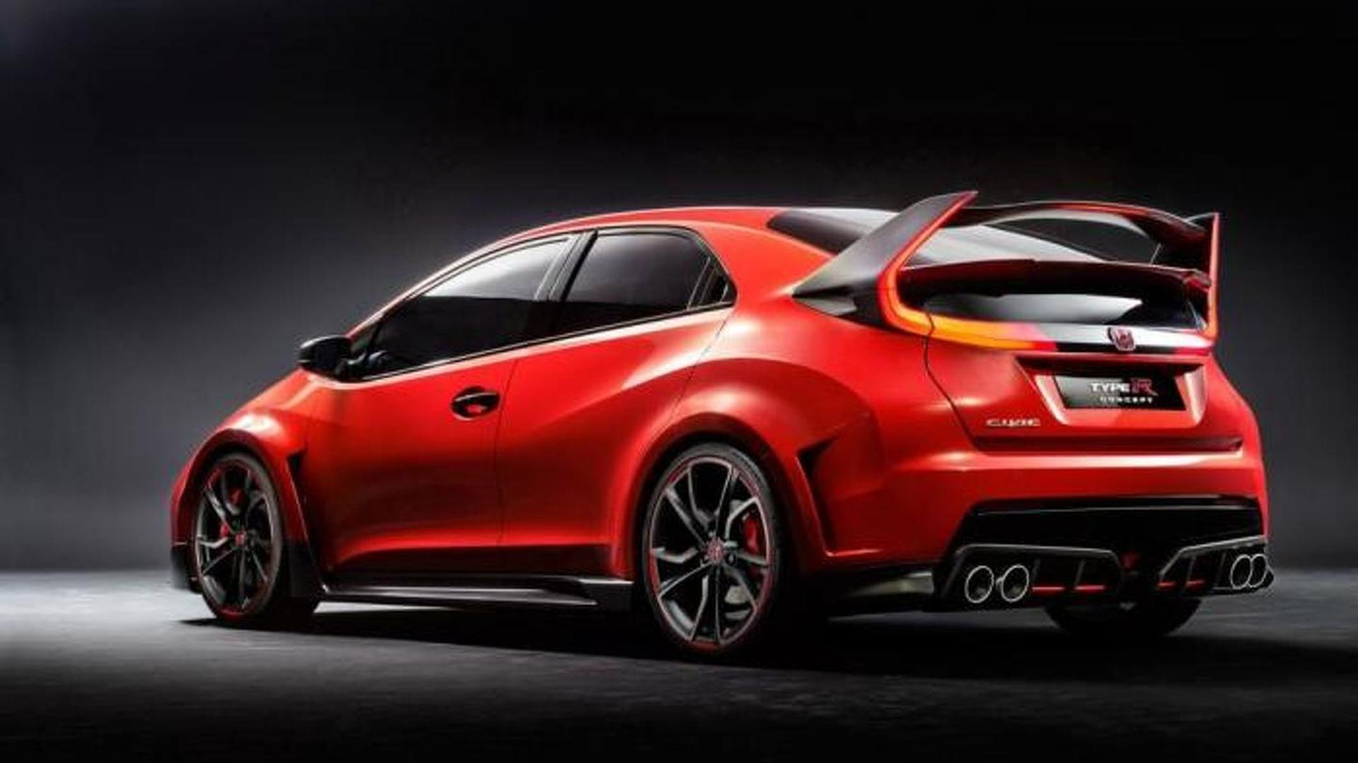 Honda Civic Type R leaked, debuts tomorrow