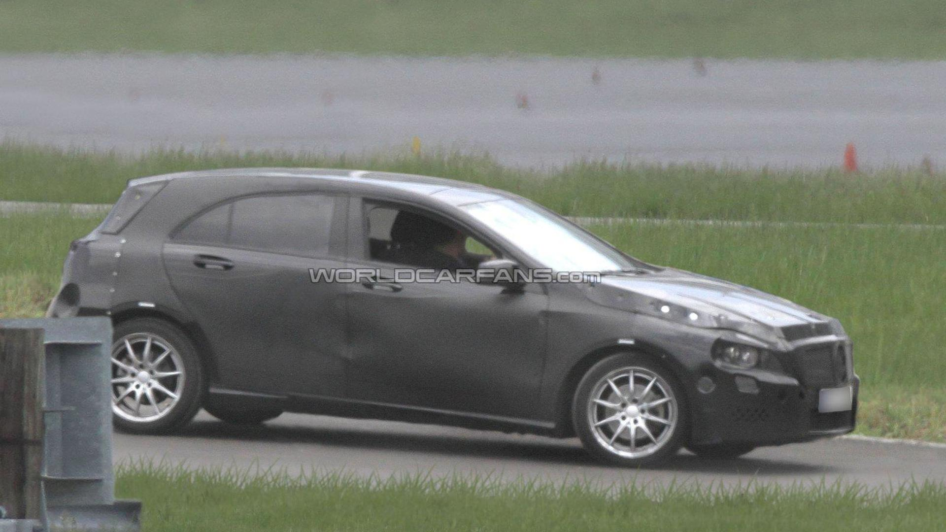 2012 Mercedes-Benz A-Class spied for first time