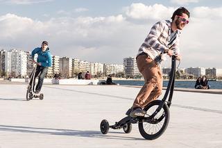 The Halfbike II Adds Fun to the Urban Commute
