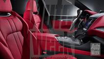2016 Maserati Levante leaked official image