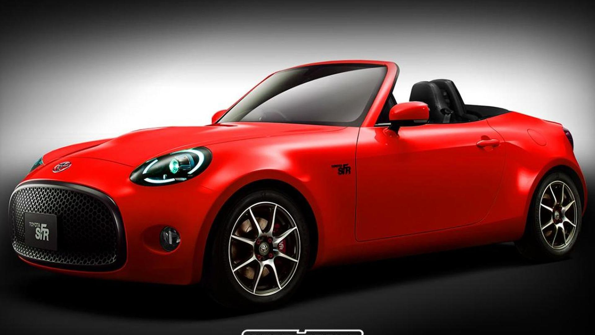 Toyota S-FR Roadster rendered, but will it happen?
