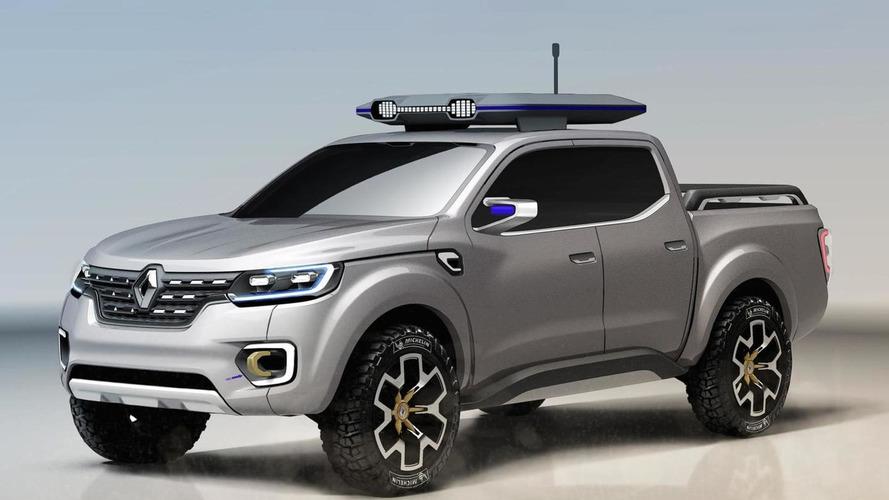 Renault Alaskan concept unveiled, production version due Q1 2016