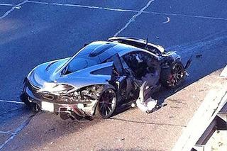 McLaren P1 Crash Gives Owner a Black (and Blue) Friday