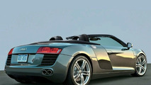 Rendered Speculation: Audi R8 Targa