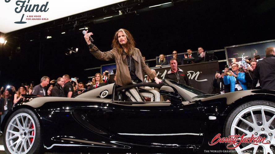 Steven Tyler's 1,200-hp Hennessey Venom sold for $1M at auction