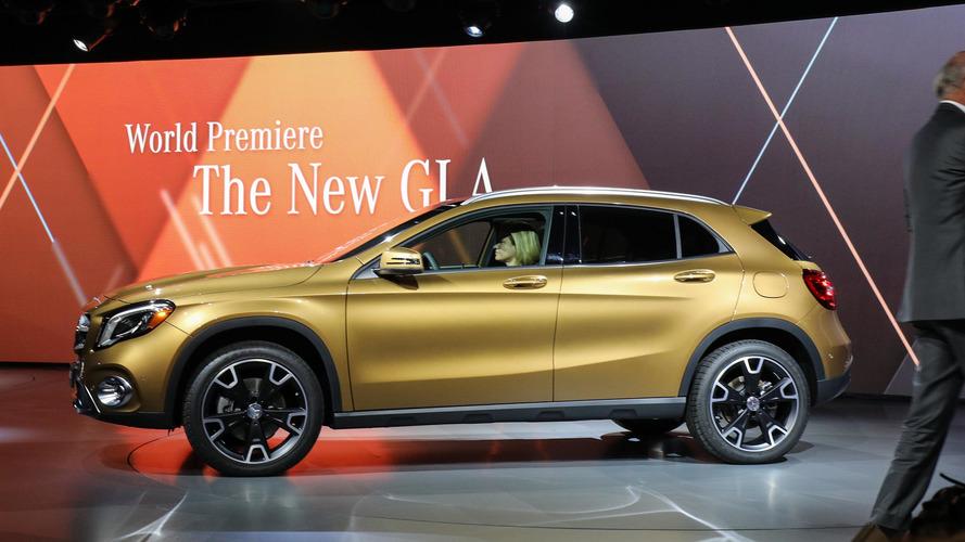 2018 Mercedes-Benz GLA 250: Detroit 2017