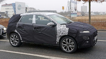 Hyundai subcompact crossover spied inside and out