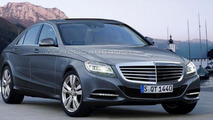New Mercedes S-Class speculatively rendered