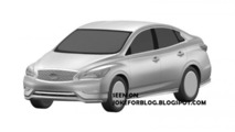 Infiniti LE production version leaked in patent pics?