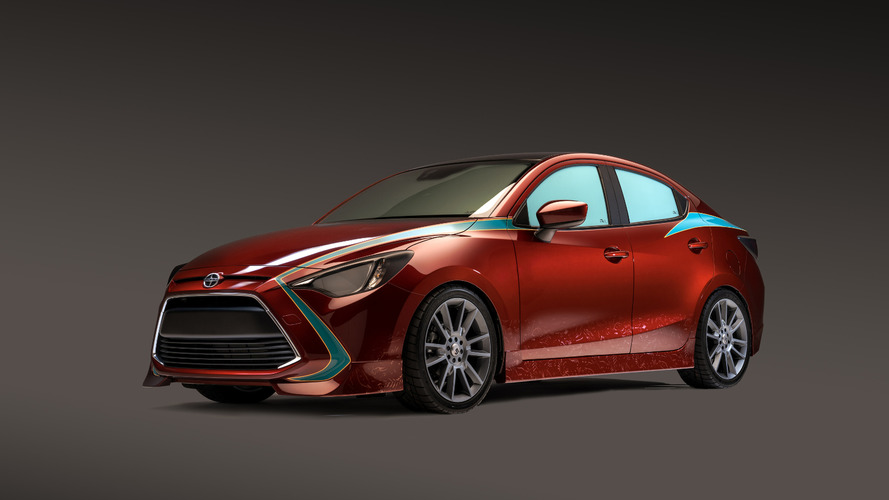 Scion iA Outcast previewed ahead of SEMA