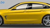 BMW 4-Series GranCoupe rendered based on patent drawings