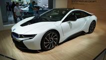 BMW i8 production version live in Frankfurt 10.09.2013