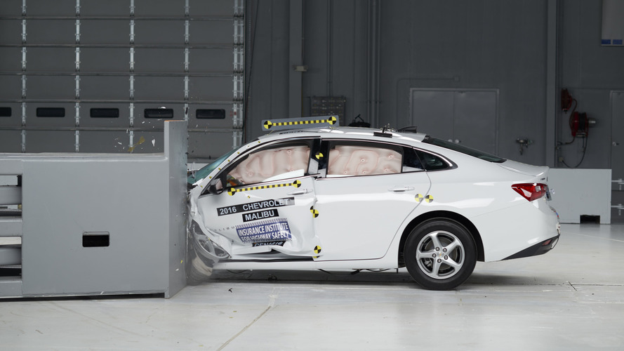 2016 Chevrolet Malibu earns TSP+ from IIHS