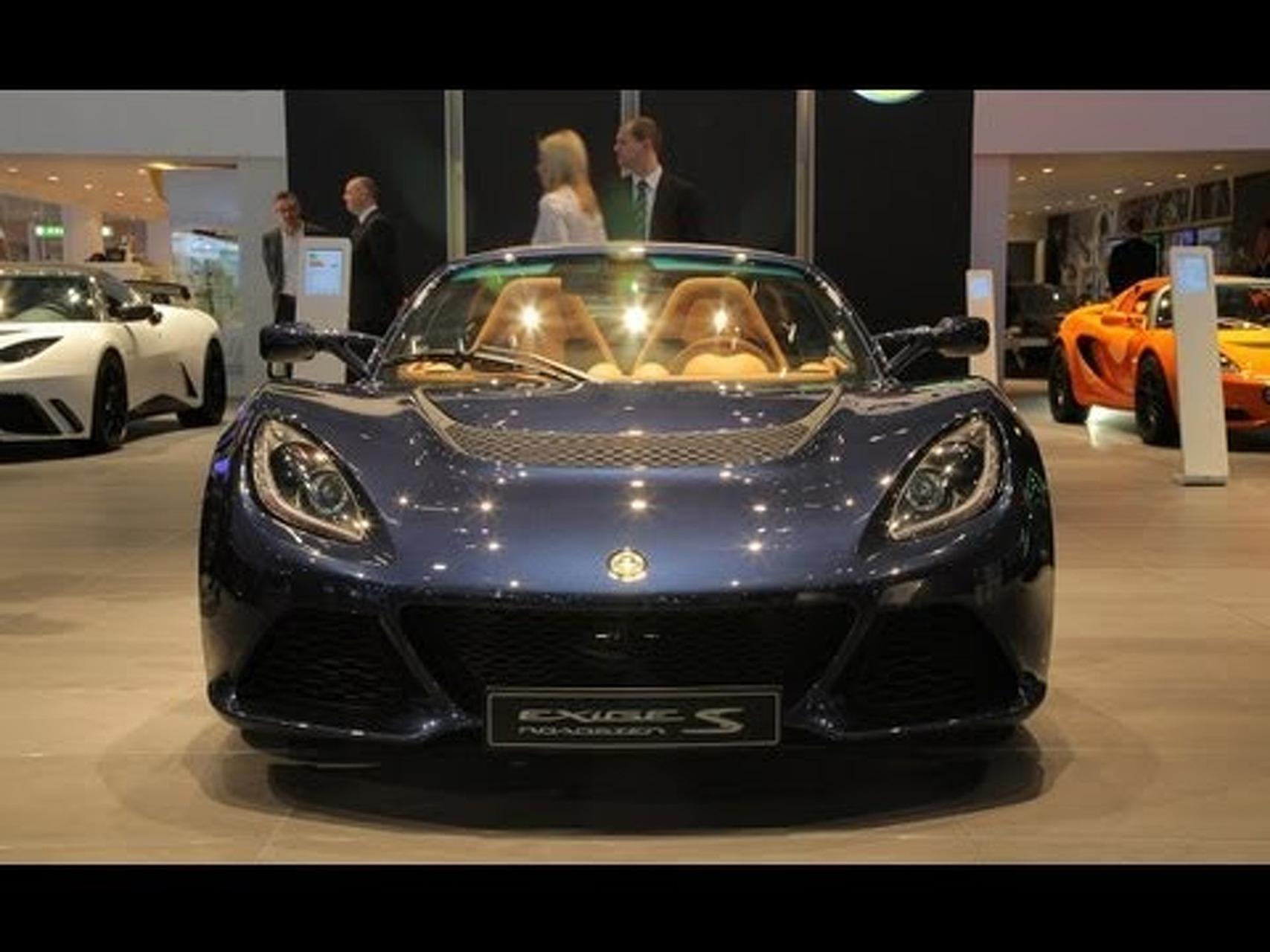 2013 Lotus Exige S Roadster @ 2012 Geneva Auto Show