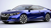 Nissan Maxima Coupe and Wagon digitally envisioned