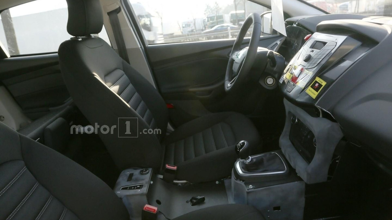 Longer, wider 2018 Ford Focus spied inside and out