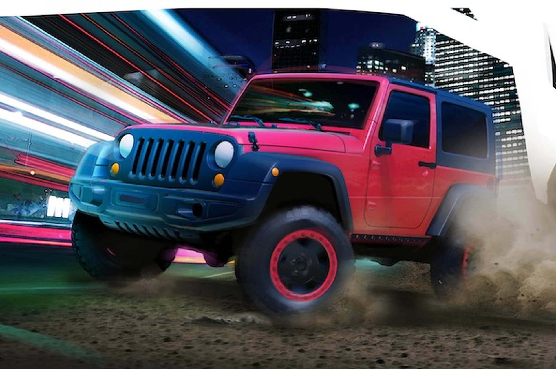 Jeep Teases Safari-Bound Wrangler Slim and Grand Cherokee Trailhawk II