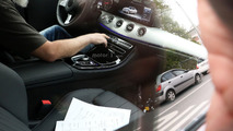Mercedes E-Class Coupe spied with slightly different dashboard