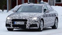 Audi A4 latest spy shots reveal headlight and taillight design