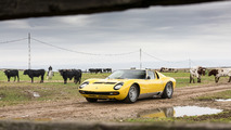 Lamborghini Miura travels to the roots of its moniker for 50th birthday