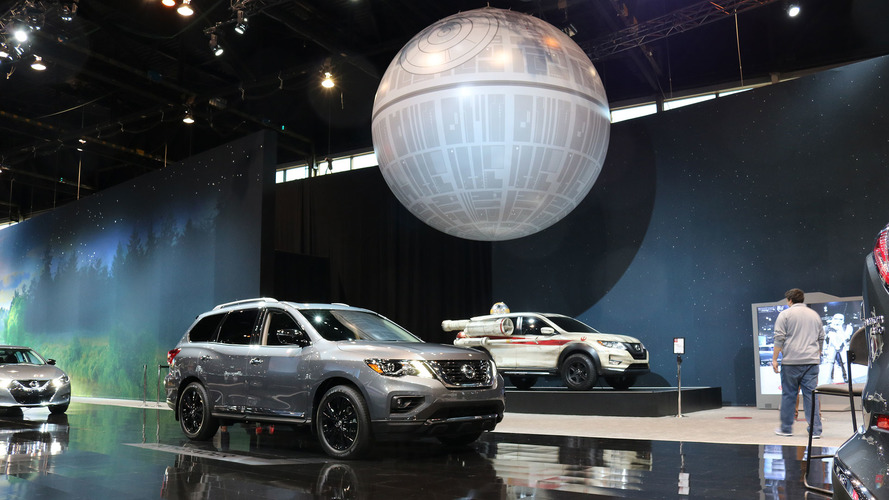 Why Nissan has a 17-foot inflatable Death Star in Chicago