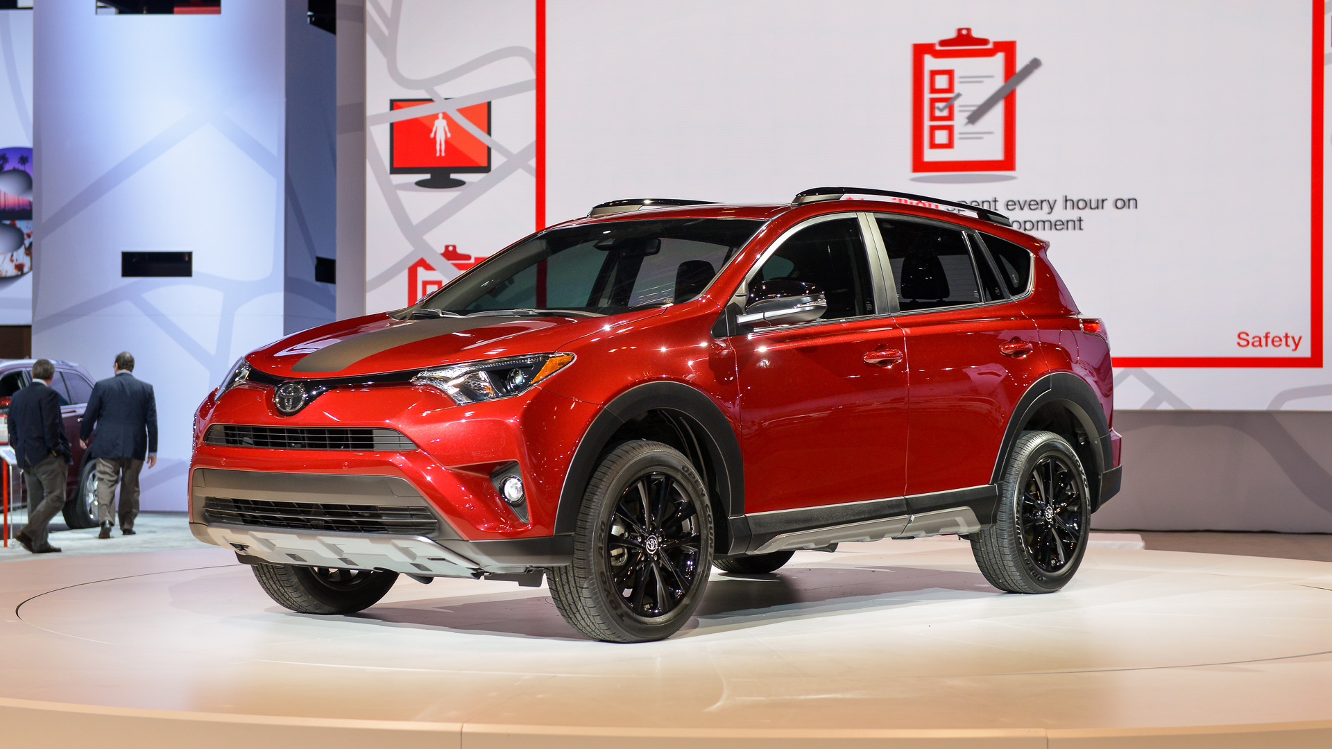 2018 Toyota RAV4 Adventure is slightly tougher, slightly lifted