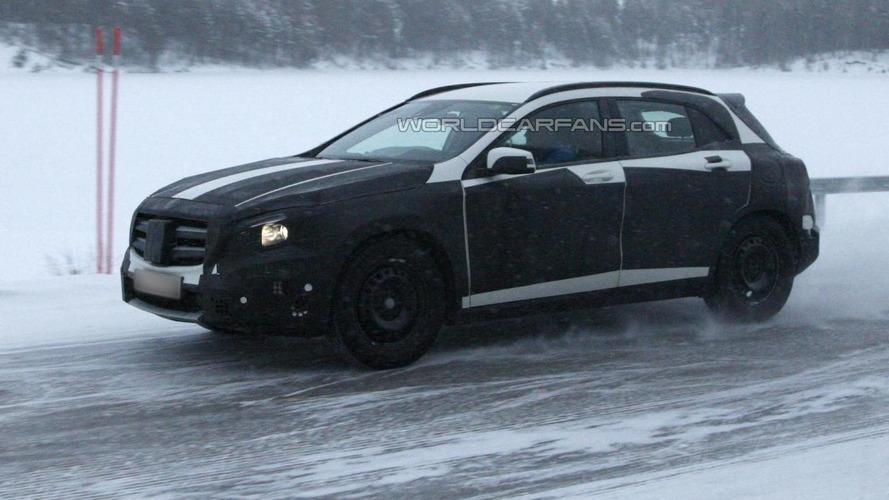 VIDEO: 2014 Mercedes-Benz GLA spied