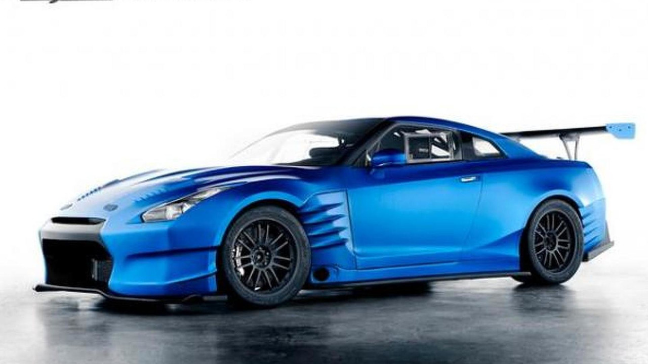 Nissan GT-R from Fast and Furious 6