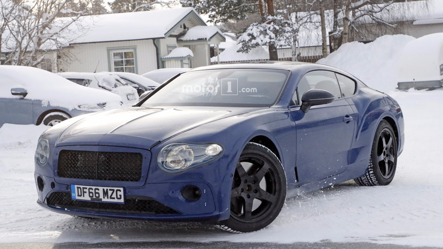 2018 Bentley Continental GT Spied Testing With The Old W12 Engine