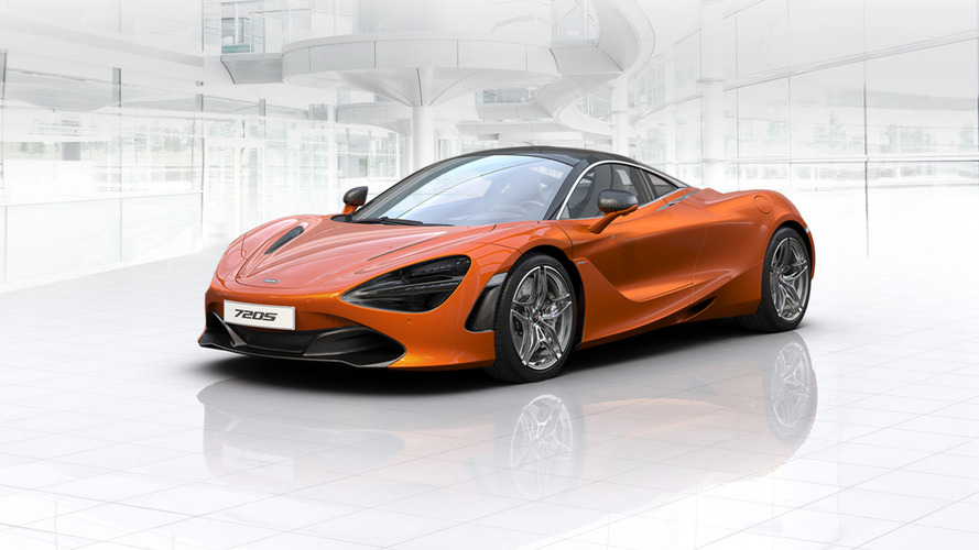 McLaren 720S has three trim levels, configure your own online