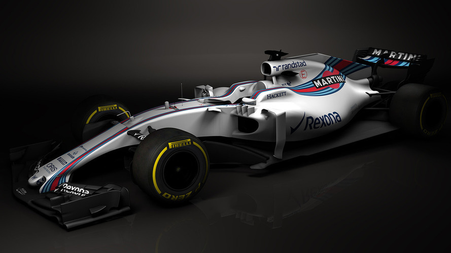 Revealed: First images of 2017 Williams F1 car