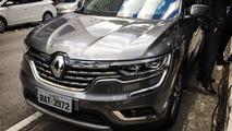 Flagra - Próximo lançamento da Renault, Koleos já roda emplacado